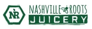 Cold pressed juice company Nashville Roots Juicery logo