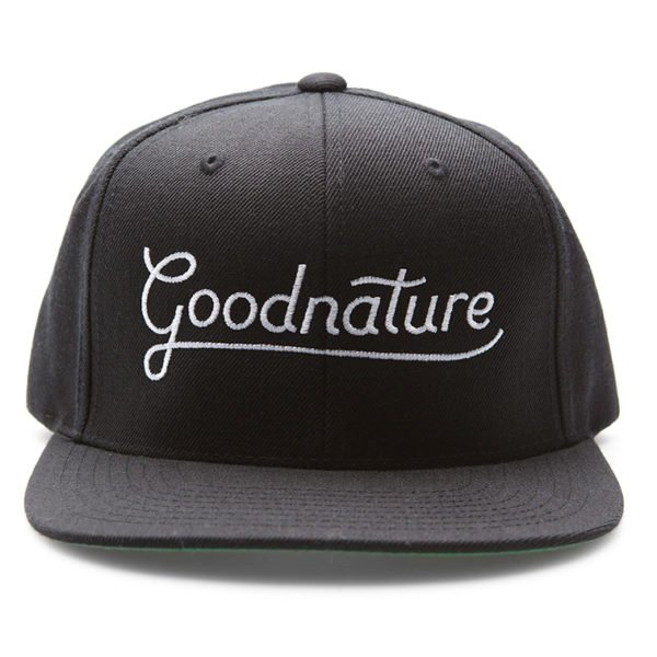 Goodnature Official Factory Issue Black Cap  - Part #20203