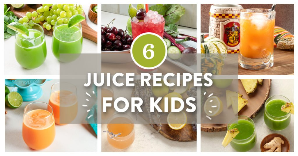 6 juice recipes for kids